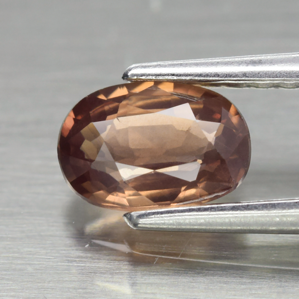 Genuine 100% Natural Brown Sapphire 0.66ct 6.0 x 4.2mm Oval VS Clarity