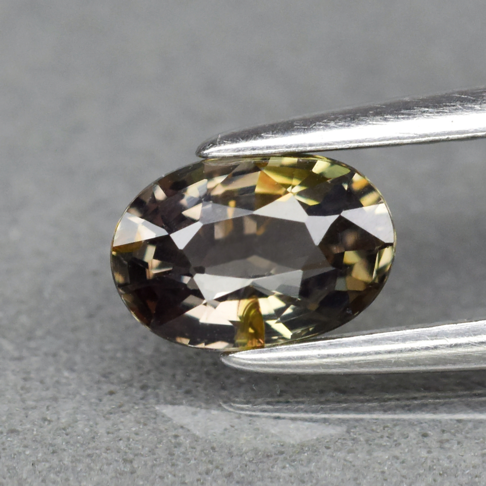 Genuine 100% Natural Brown Sapphire 0.74ct 6.2 x 4.2mm Oval VS Clarity