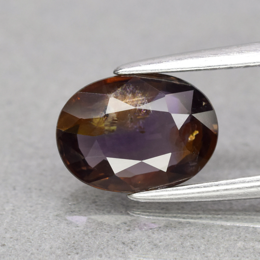 Genuine 100% Natural Brown Sapphire 1.64ct 8.3 x 6.0mm Oval SI1 Clarity