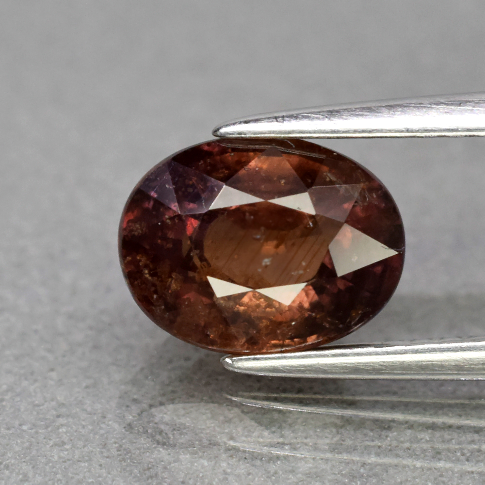 Genuine 100% Natural Brown Sapphire 2.30ct 8.4 x 6.4mm Oval SI1 Clarity