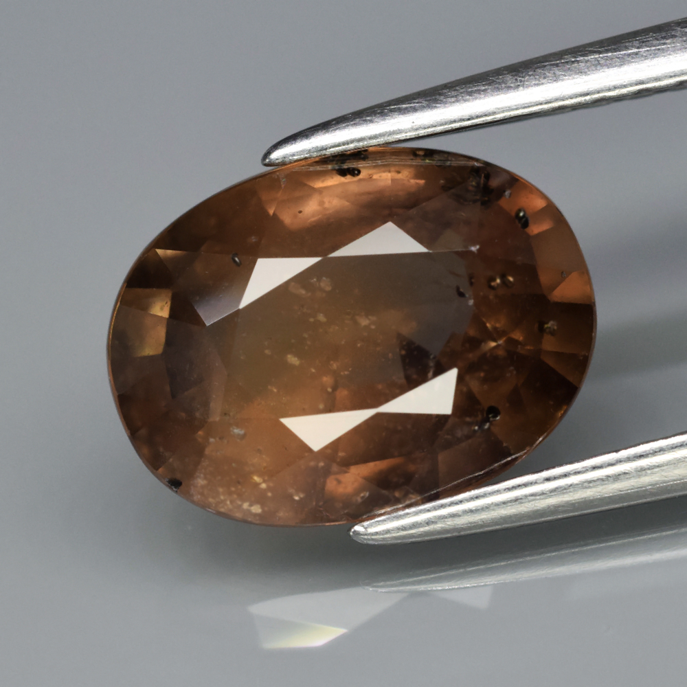 Genuine 100% Natural Brown Sapphire 2.40ct 9.6 x 7.2mm Oval SI1 Clarity
