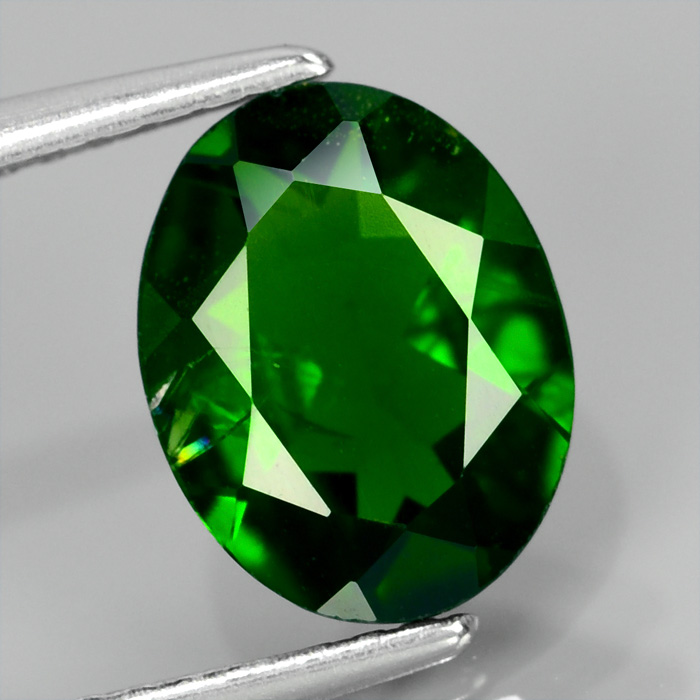 Genuine 100% Natural Chrome Diopside 1.71ct 9.0 x 7.0mm Oval SI1 Clarity