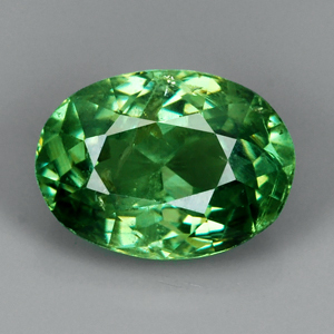 Genuine 100% Natural Demantoid Garnet 1.12ct 7.0 x 5.1mm SI