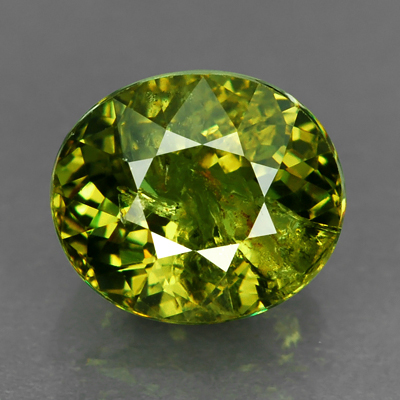 Genuine 100% Natural DEMANTOID GARNET 2.26ct 7.7 x 6.6 x 4.9mm Oval
