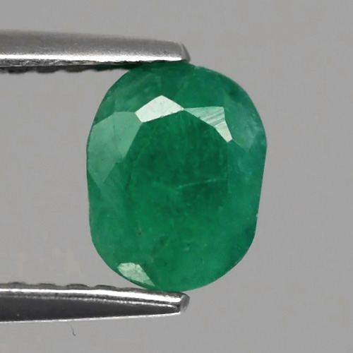 Genuine 100% Natural EMERALD 1.19ct 6.8 x 5.2mm Oval SI2 ClarityZambia