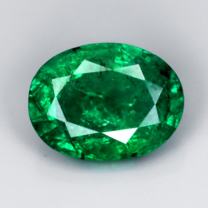 Genuine 100% Natural Emerald 1.23ct 8.1 x 6.1mm SI