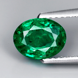 Genuine 100% Natural Emerald 1.25ct 7.9 x 6.1mm Colombia SI