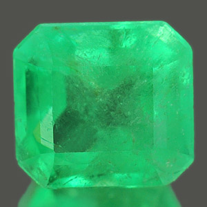 Genuine 100% Natural Colombian EMERALD 1.41ct 6.9 x 6.5 x 4.7mm Octagon