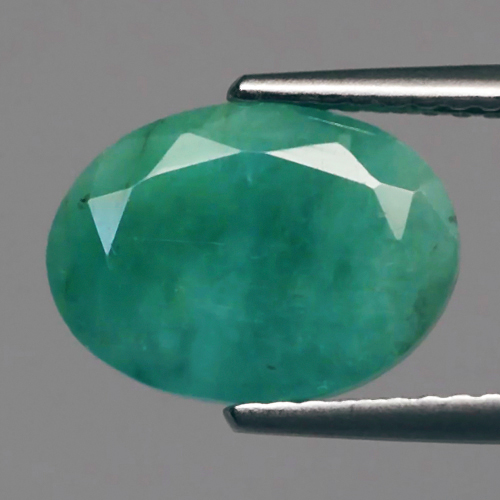 Genuine 100% Natural Emerald 2.79ct 11.0 x 8.0mm Oval SI2 Clarity