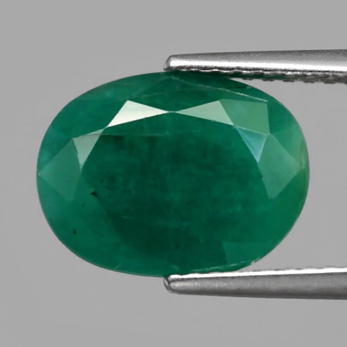 Genuine 100% Natural Emerald 3.19ct 11.2 x 8.5mm Oval SI2 Clarity