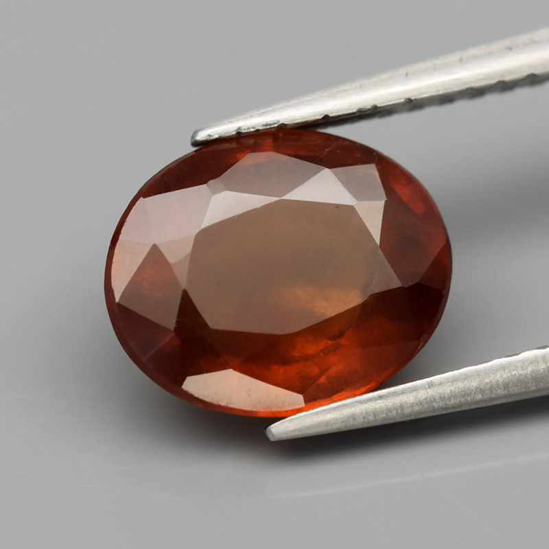 Genuine 100% Natural Hessonite Garnet 2.73ct 9.3 x 7.5mm Oval SI2 Clarity