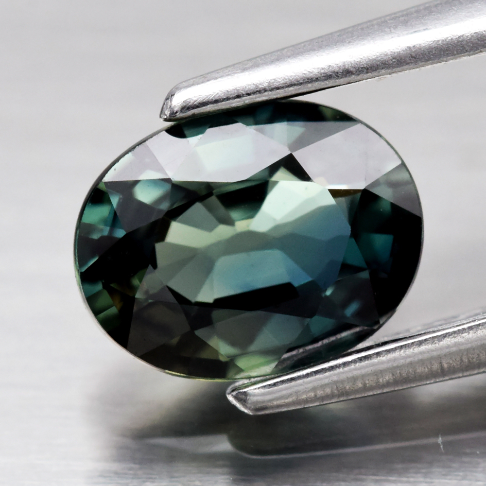 Genuine Green Sapphire .52ct 5.6 x 4.3mm Oval VVS Clarity