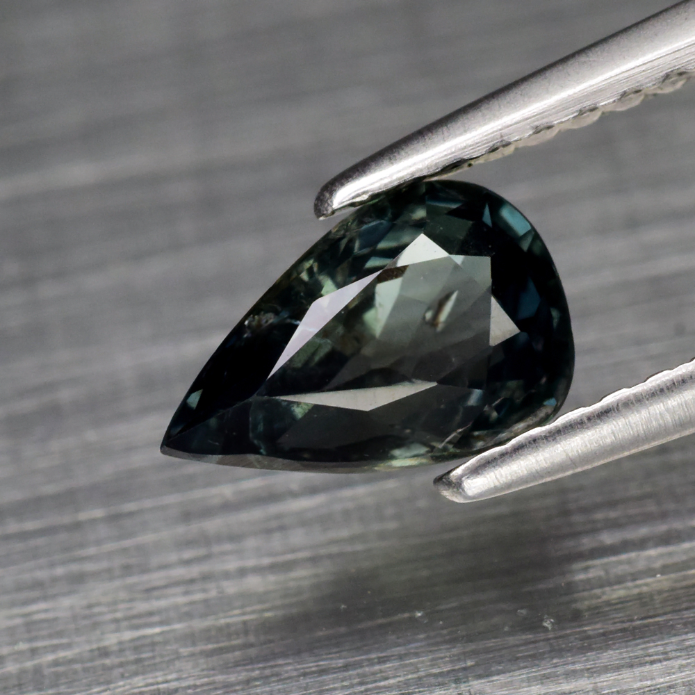 Genuine 100% Natural Green Sapphire 1.03ct 8.0 x 5.0mm Pear SI1 Clarity