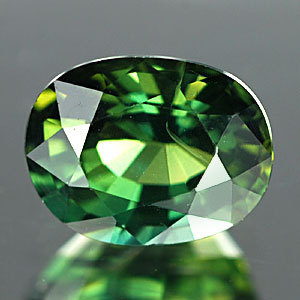 Genuine Green Sapphire 1.04ct 6.4 x 5.0 x 3.8mm Thailand VS1
