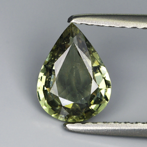 Genuine Green Sapphire 1.06ct 7.9 x 5.9mm SI