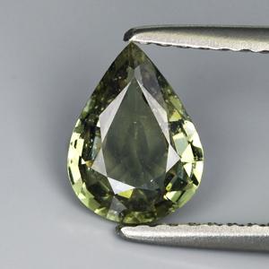 Genuine Green Sapphire 1.06ct 7.9 x 5.9mm SI