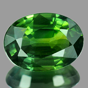 Genuine GREEN SAPPHIRE 1.12ct 7.2 x 5.2 x 3.3mm Oval