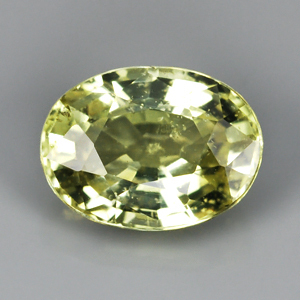 Genuine 100% Natural Green Sapphire 1.13ct 6.9 x 5.2mm Oval SI1 Clarity