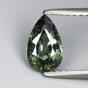 Genuine Green Sapphire 1.20ct 8.1 x 5.0mm SI
