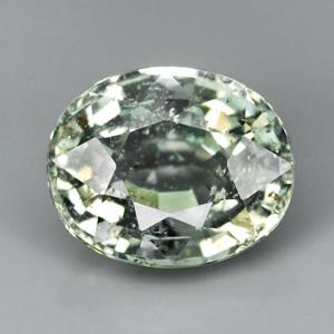 Genuine Green Sapphire 1.23ct 6.6 x 5.4mm SI
