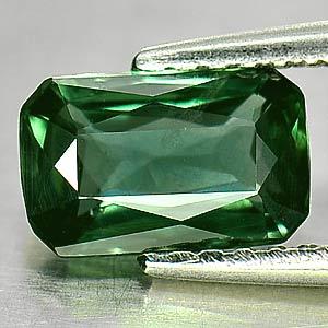 Genuine Green Sapphire 1.25ct 7.8 x 4.9mm Octagon VS1 Clarity
