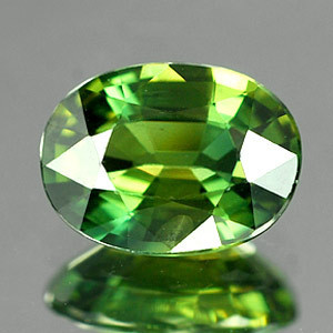 Genuine Green Sapphire 1.29ct 7.5 x 5.6 x 3.5mm VS1 Clarity