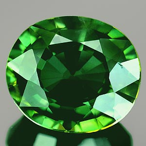 Genuine GREEN SAPPHIRE 1.41ct 7.5 x 6.0 x 3.3mm Oval