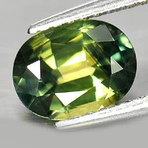 Genuine Green Sapphire 1.57ct 8.0 x 6.0mm Oval VS1 Clarity
