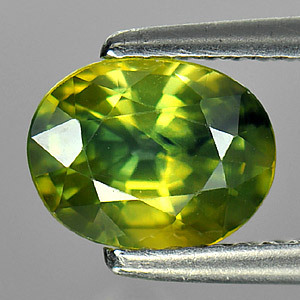 Genuine Green Sapphire 1.75ct 8.0 x 6.2 x 4.5mm Thailand SI