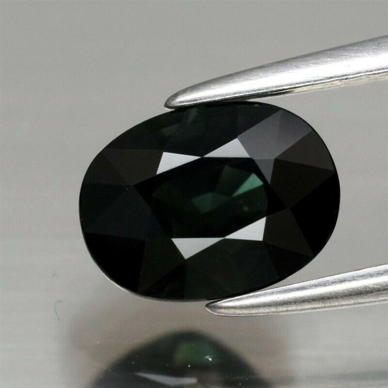 Genuine Green Sapphire 1.97ct 7.7 x 5.8mm Oval VS Clarity