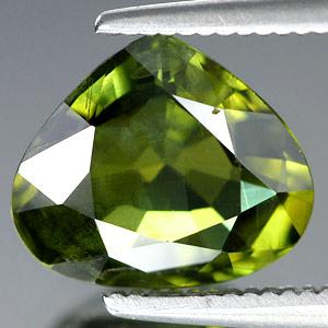 Genuine GREEN SAPPHIRE 2.50ct 9.5 x 8.0 x 4.0mm Pear