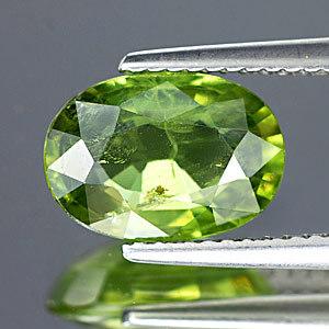 Genuine Green Sapphire 3.40ct 10.6 x 7.5mm Thailand VS1