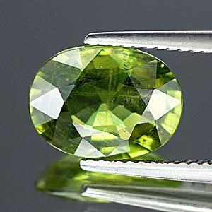 Genuine Green Sapphire 4.24ct 11.3 x 8.4mm Thailand VS1