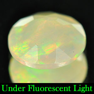 Genuine 100% Natural Opal .91ct 8.0x8.0x4.0 Ethiopia