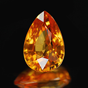 Genuine 100% Natural MANDARIN GARNET 2.25ct 9.0 x 6.0 x 5.0mm Pear