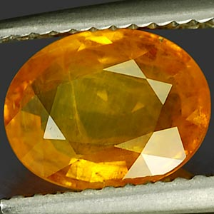 Genuine Yellow Sapphire 2.36ct 9.4 x 7.8mm Oval VS1 Clarity