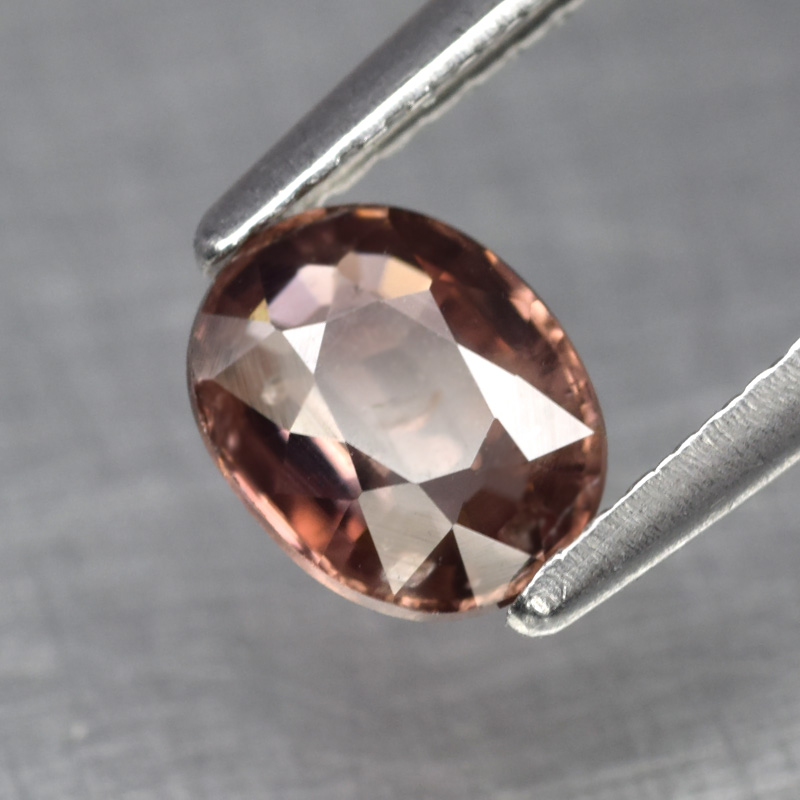 Genuine 100% Natural Padparadsha Sapphire 1.16ct 6.5 x 5.0mm Oval SI1 Clarity
