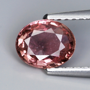 Genuine Padparadshca Sapphire 1.03ct 7.1 x 5.7mm SI