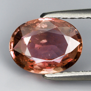 Genuine Padparadshca Sapphire 1.58ct 8.5 x 6.5mm SI