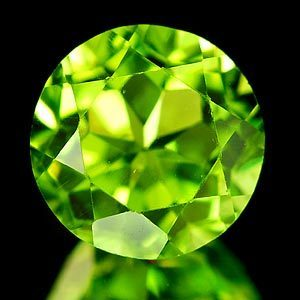 Genuine 100% Natural Peridot 1.88ct 8.0 x 8.0 x 5.2mm Thailand VVS