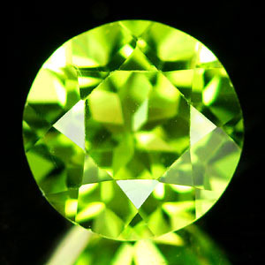 Genuine 100% Natural Peridot 1.95ct 8.0 x 8.0mm China IF