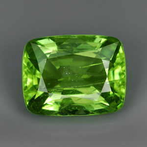 Genuine 100% Natural PERIDOT 3.55ct 9.9 x 7.7 x 5.2mm Antique Cut