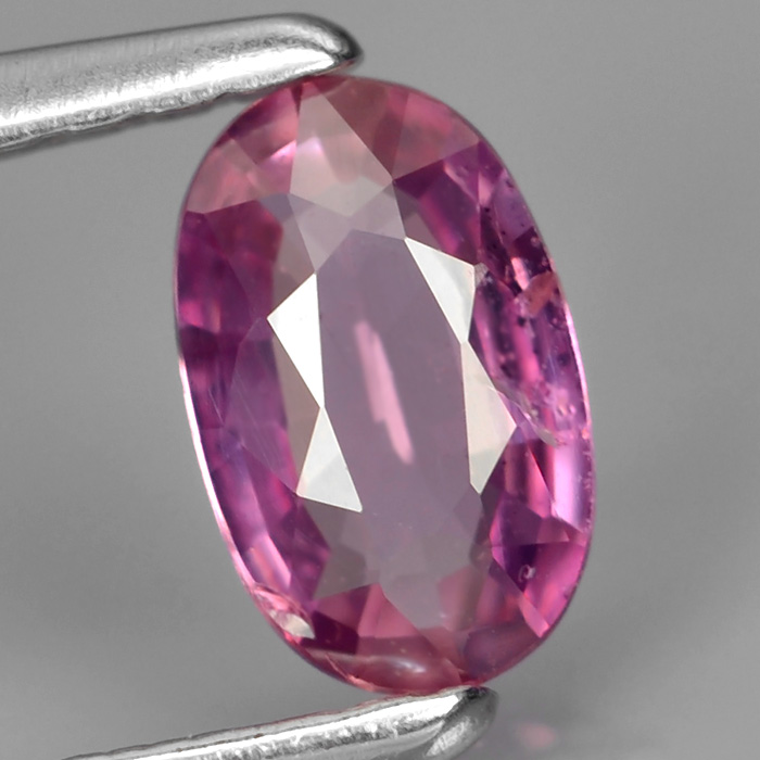 Genuine 100% Natural Pink Sapphire .43ct 6.0 x 3.8mm Oval SI1 Clarity