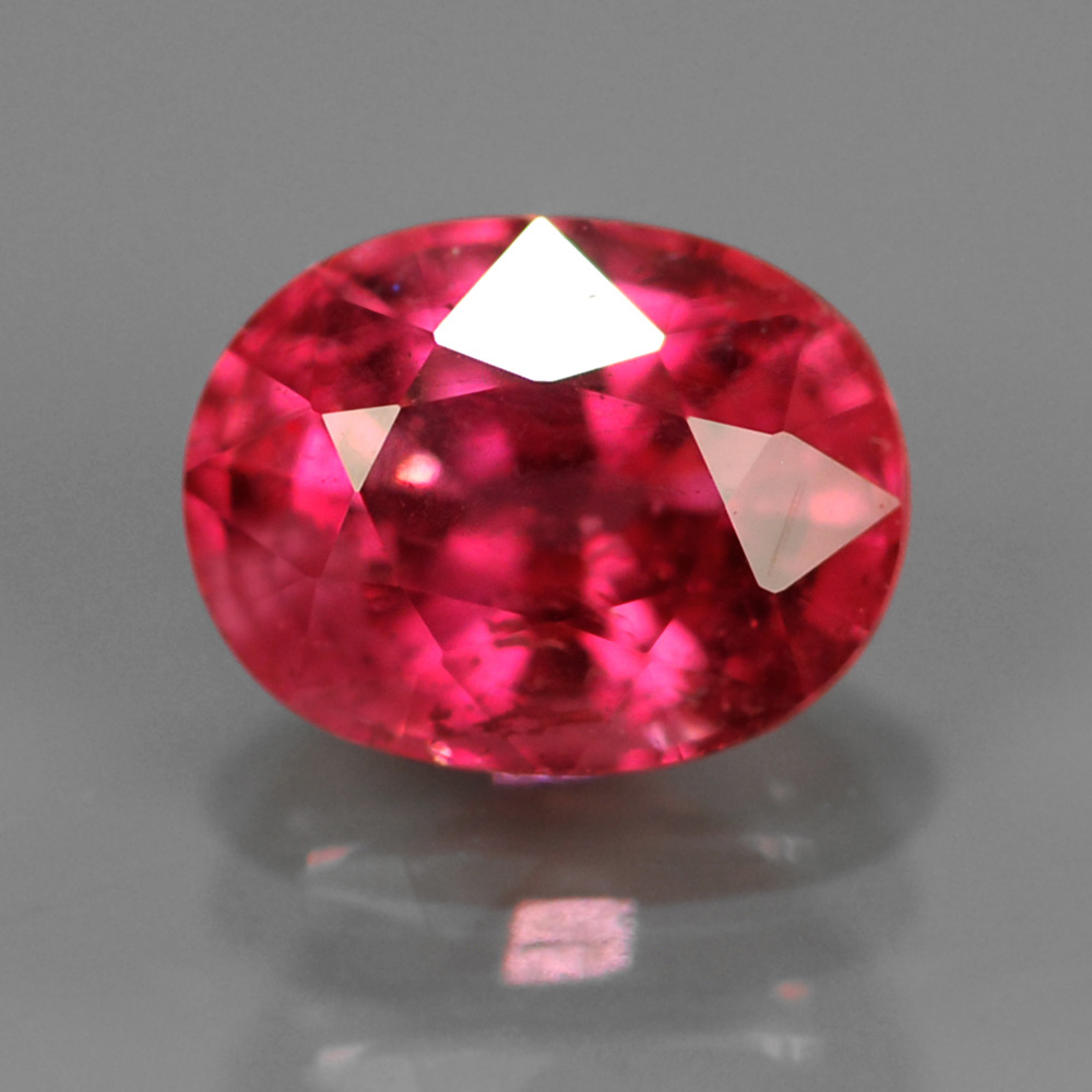 Genuine Pink Sapphire .74ct 5.5x4.2x3.5 SI1 Mozambique