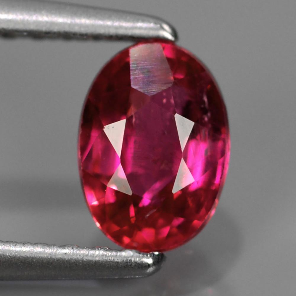 Genuine Pink Sapphire .79ct 6.0x4.3x3.1 SI1 Mozambique