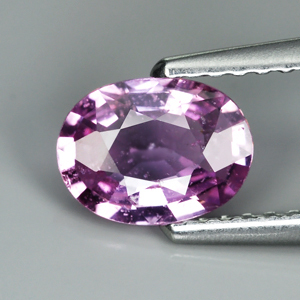 Genuine 100% Natural Purple Sapphire 0.94ct 7.0 x 5.0mm Oval SI1 Clarity
