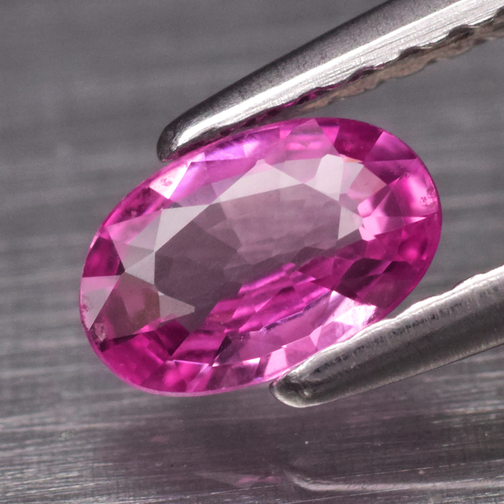 Genuine Pink Sapphire .46ct 6.0 x 4.0mm Oval VS Clarity