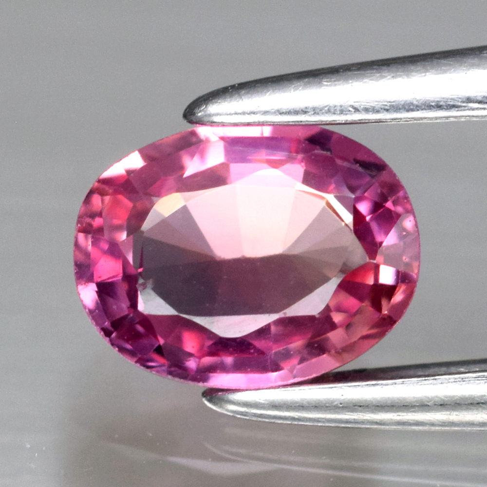 Genuine Pink Sapphire .48ct 5.2 x 4.0mm Oval VS Clarity