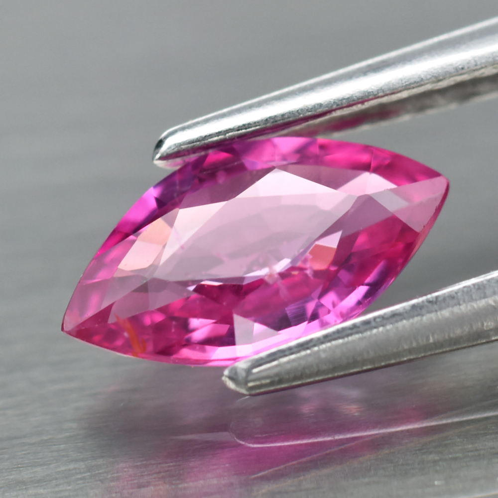 Genuine 100% Natural Pink Sapphire .49ct 7.3 x 4.0mm Marquise Cut VS Clarity