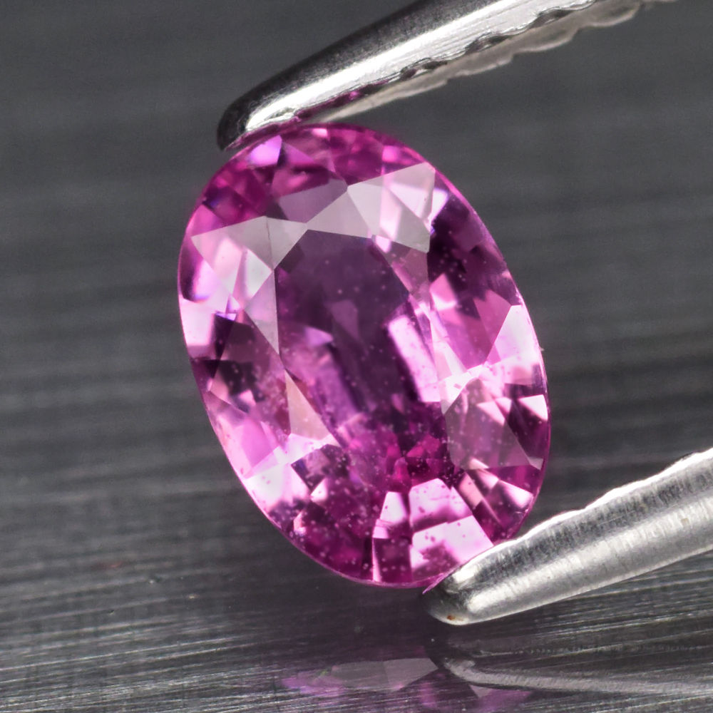 Genuine Pink Sapphire .52ct 6.0 x 4.0mm Oval SI1 Clarity